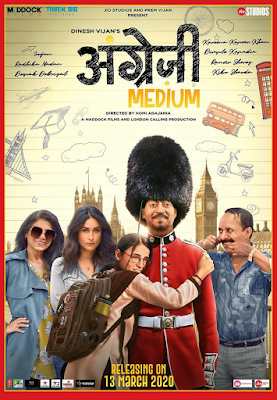 Angrezi Medium 2020 Hindi 720p WEB HDRip 1Gb x264