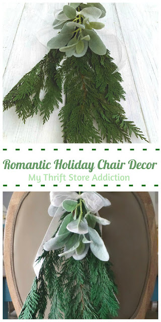 simply elegant holiday chair decor