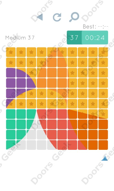Cheats, Walkthrough for Blocks and Shapes Medium Level 37