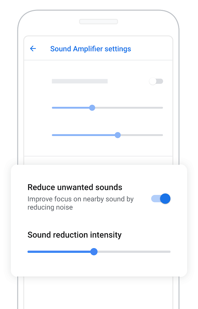 Android app Sound Amplifier