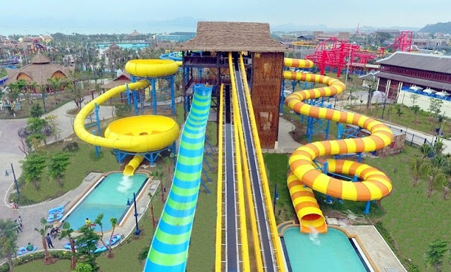 Experience the most modern water park in Southeast Asia in Ha Long