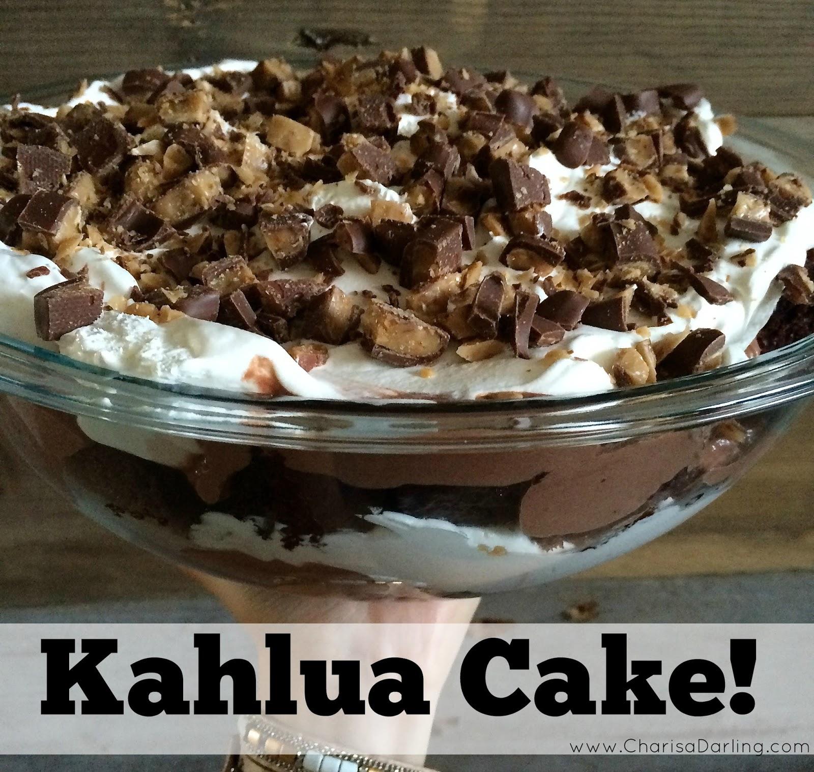 Kahlua Cake Recipe No Pudding