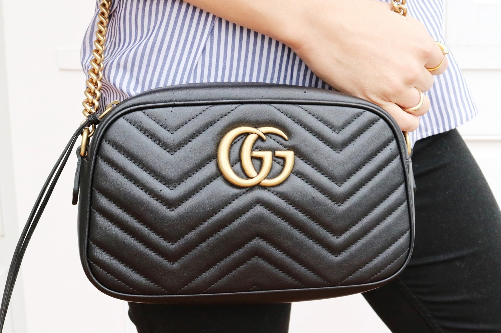 What's In My Bag: Gucci Marmont Camera Bag Review