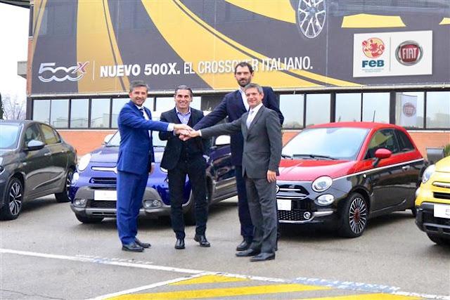FIAT nuevo sponsor de la ÑBA