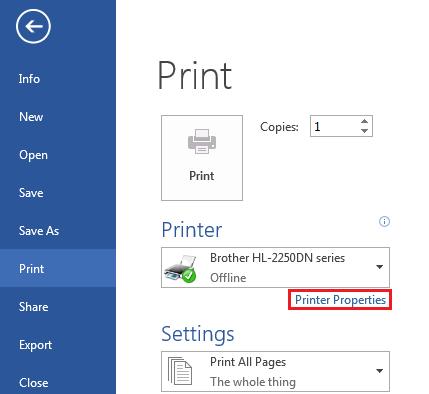 Tidak semua dokumen harus dicetak dengan warna  Cara Print Berwarna Hitam-Putih di Microsoft Word
