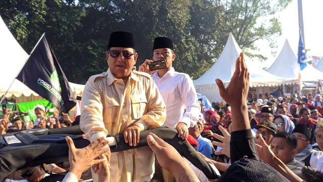 Prabowo: Anggap Aja Nanti 17 April Lebaran Ketiga!