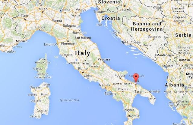 Principais pontos turísticos em Bari