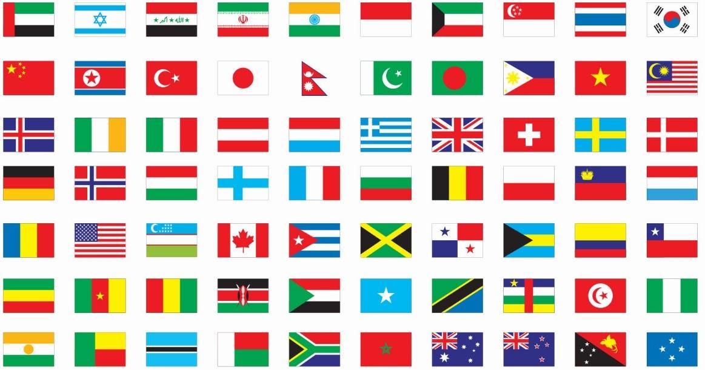 Kenali Bendera Mengikut Negara Projek Travel
