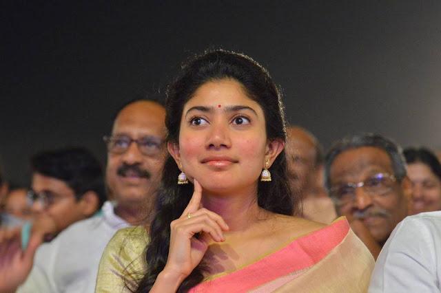 Sai Pallavi Saree Photo at MCA Movie Pre Release Event