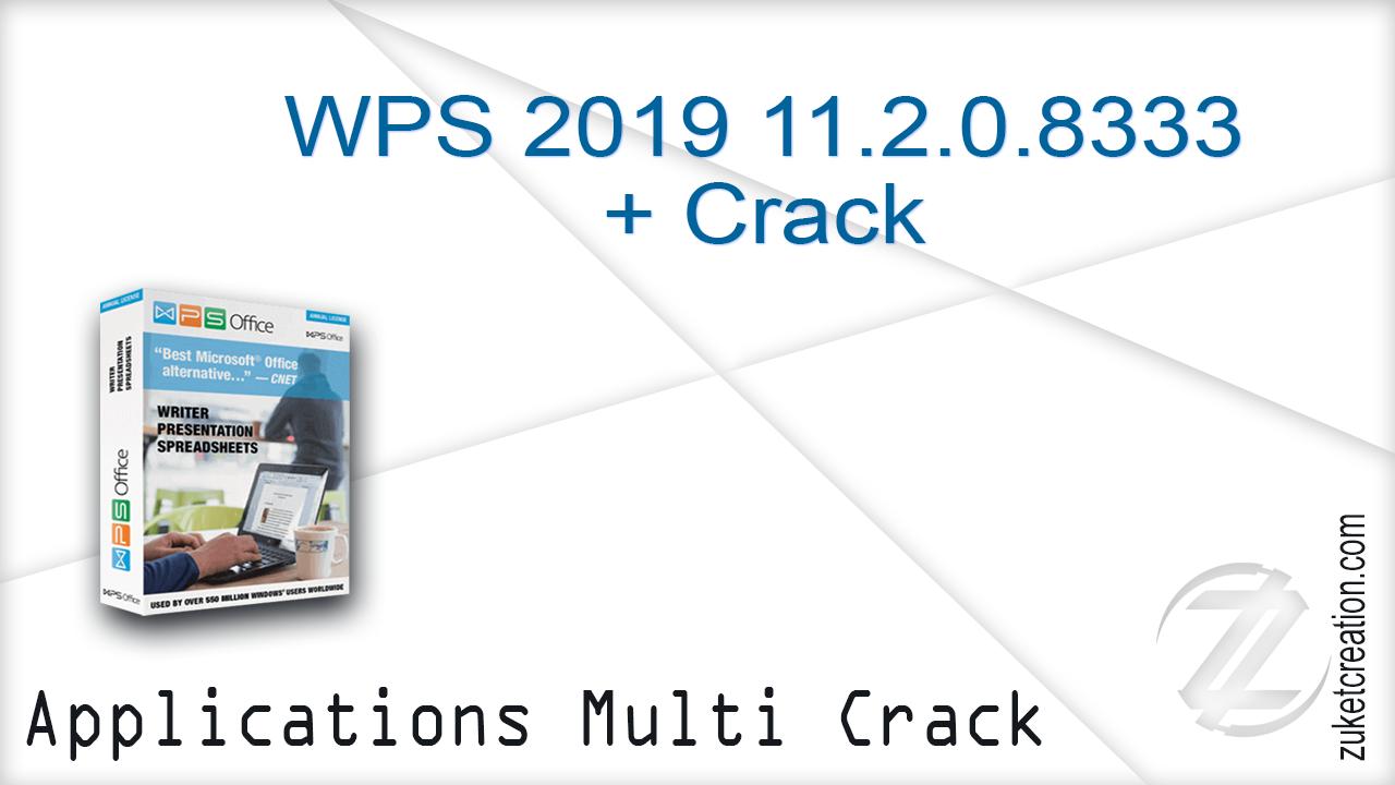 Aplikasi Hackers: WPS 2019 11 2 0 8333 + Crack | 113 MB