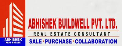 Abhishek Buildwell Pvt Ltd banner (building logo)