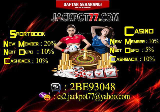 Hasil gambar untuk jackpot77