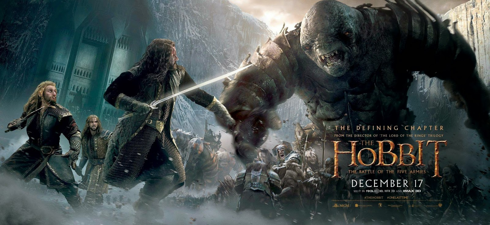 The hobbit: the battle of five arms