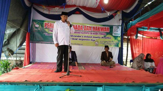 Nasaruddin Motivasi Warga Semangat Mengaji Ilmu Agama