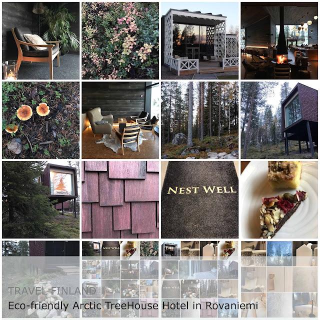 Travel Finland. Eco-friendly Arctic TreeHouse Hotel in Rovaniemi
