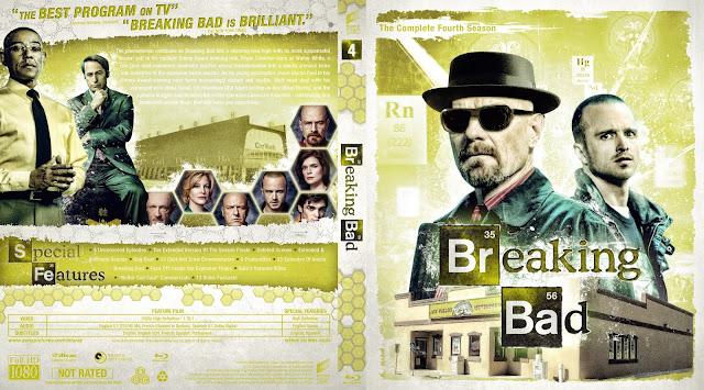 Breaking Bad Season 4 Bluray Cover