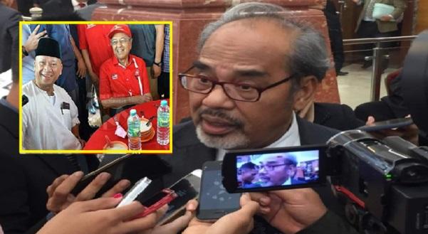 Tajuddin tidak terkejut dengan pendirian Nazri yang menyokong kepimpinan Tun M, Ini sebabnya