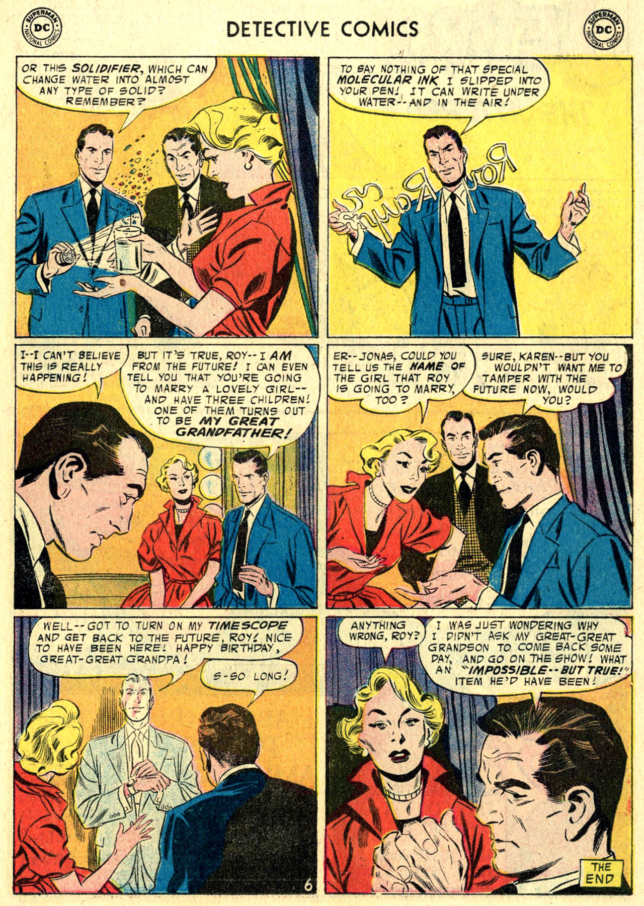 Read online Detective Comics (1937) comic -  Issue #244 - 23