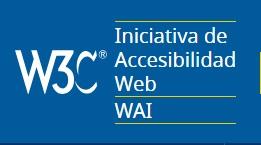 Logo de W3C y WAI