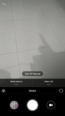 Cara mengaktifkan fitur manual focus dan shutter speed di Redmi Note 3