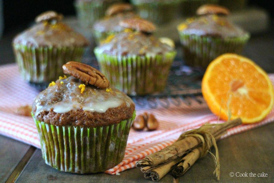 carrot-muffins, tangerine-muffins, muffins-de-zanahoria-y-mandarina