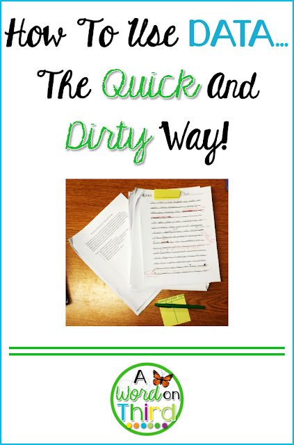 How To Use Data... The Quick And Dirty Way! by A Word On Third