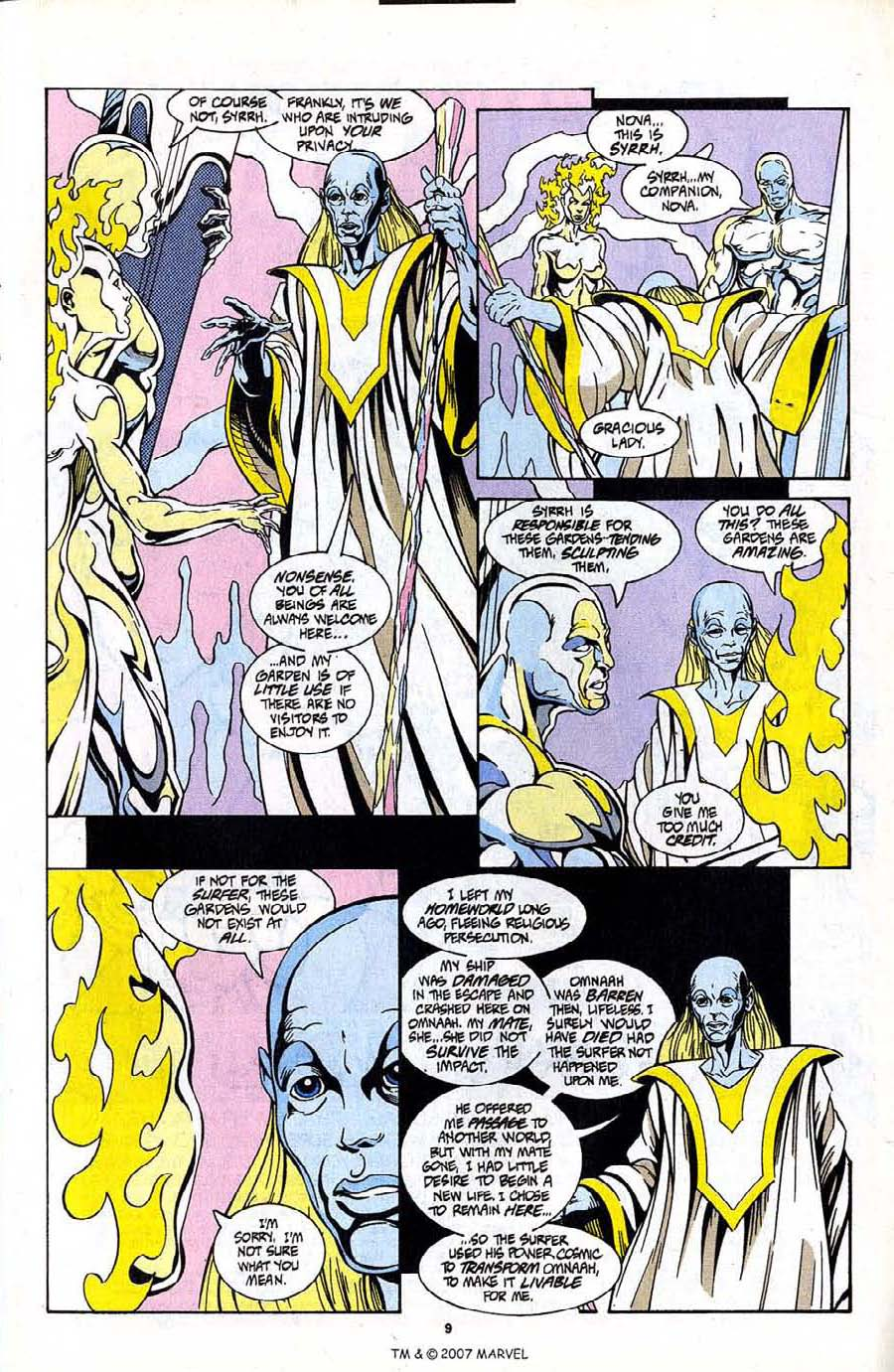 Read online Silver Surfer (1987) comic -  Issue #99 - 11