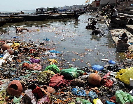 Vedic Views on World News: THE GANGES: ALL PLAN, LITTLE ACTION