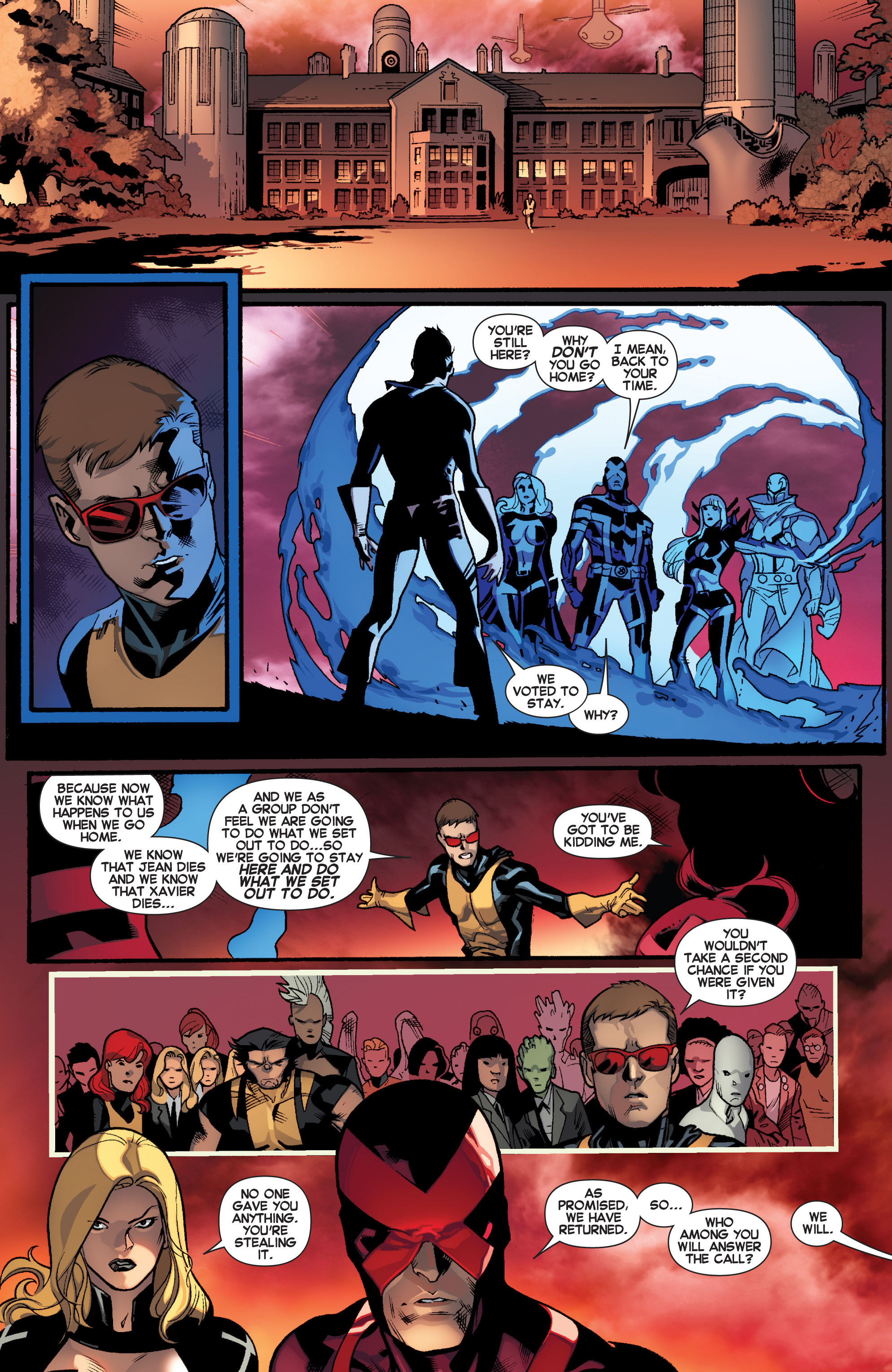 Read online All-New X-Men (2013) comic -  Issue # _Special - Here To Stay - 106