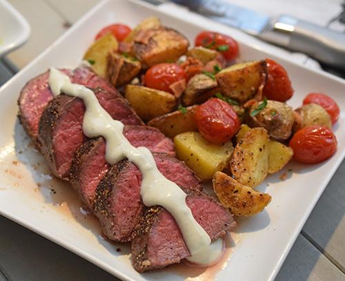 Certified Angus Beef tenderloin roast recipe #bestangusbeef