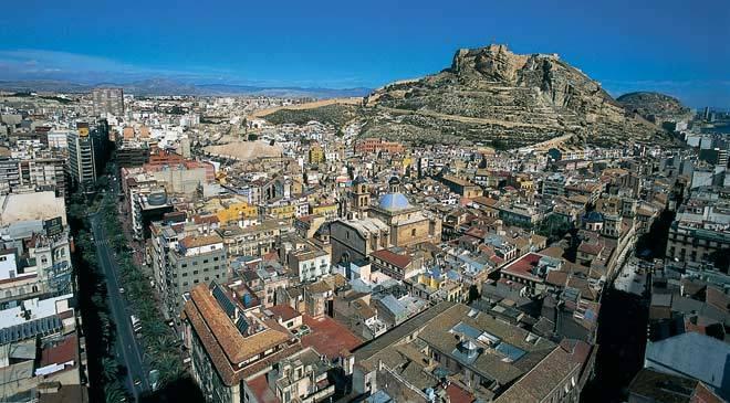 Viajar a Alicante