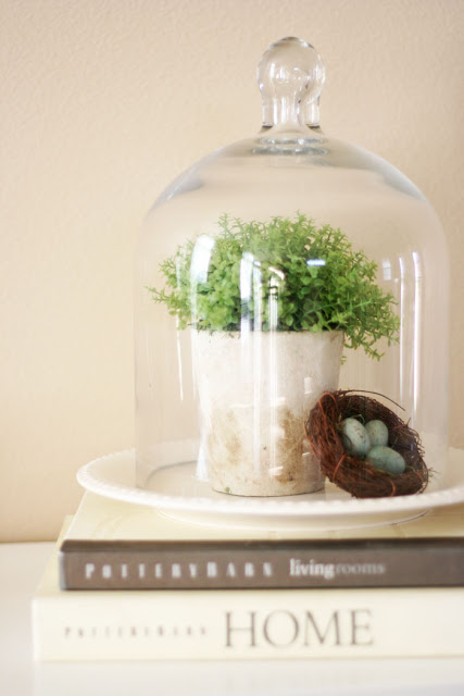 decorating-with-cloches-eggs-spring-decor