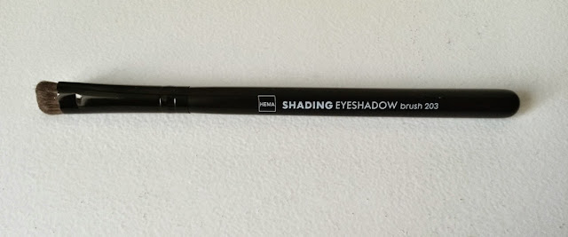 Mes pinceaux Hema shading eyeshadow brush
