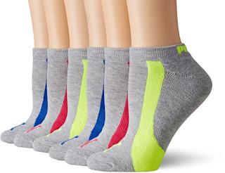Puma Athletic No-Show Socks $9 (reg $18)