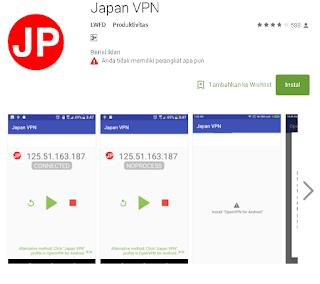 Ulasan Lengkap Tentang Japan VPN 2018