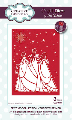 Festive Collection Three Wise Men Dies - CED3089