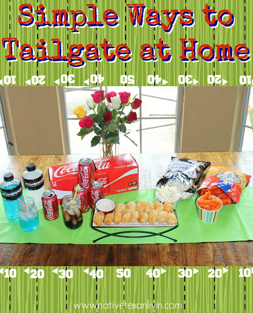 Simple Ways to Tailgate at Home with Coca-Cola, Powerade & Wise Chips from Family Dollar