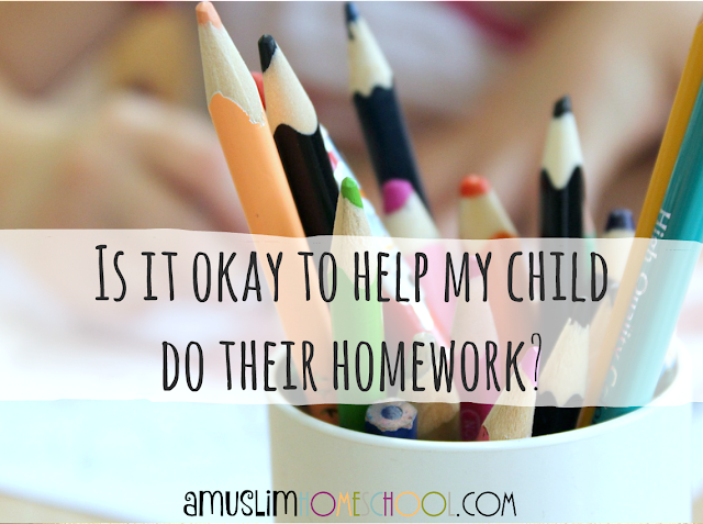 How to kids with homework - is it okay?