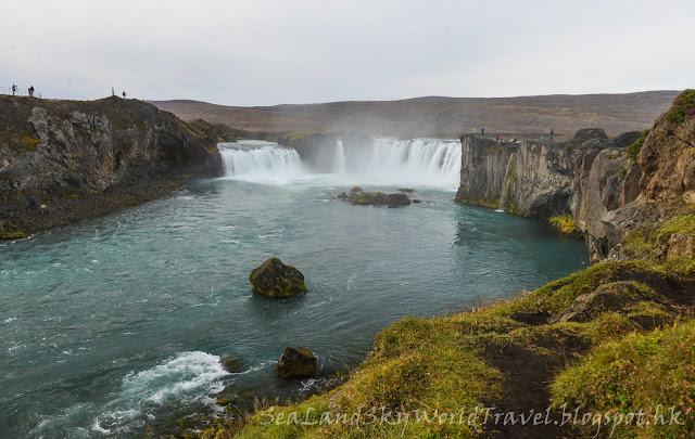 iceland, 冰島, Godafoss 瀑布