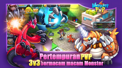 Free Dowload Monster PVP ( Epic Pet Server Indonesia)