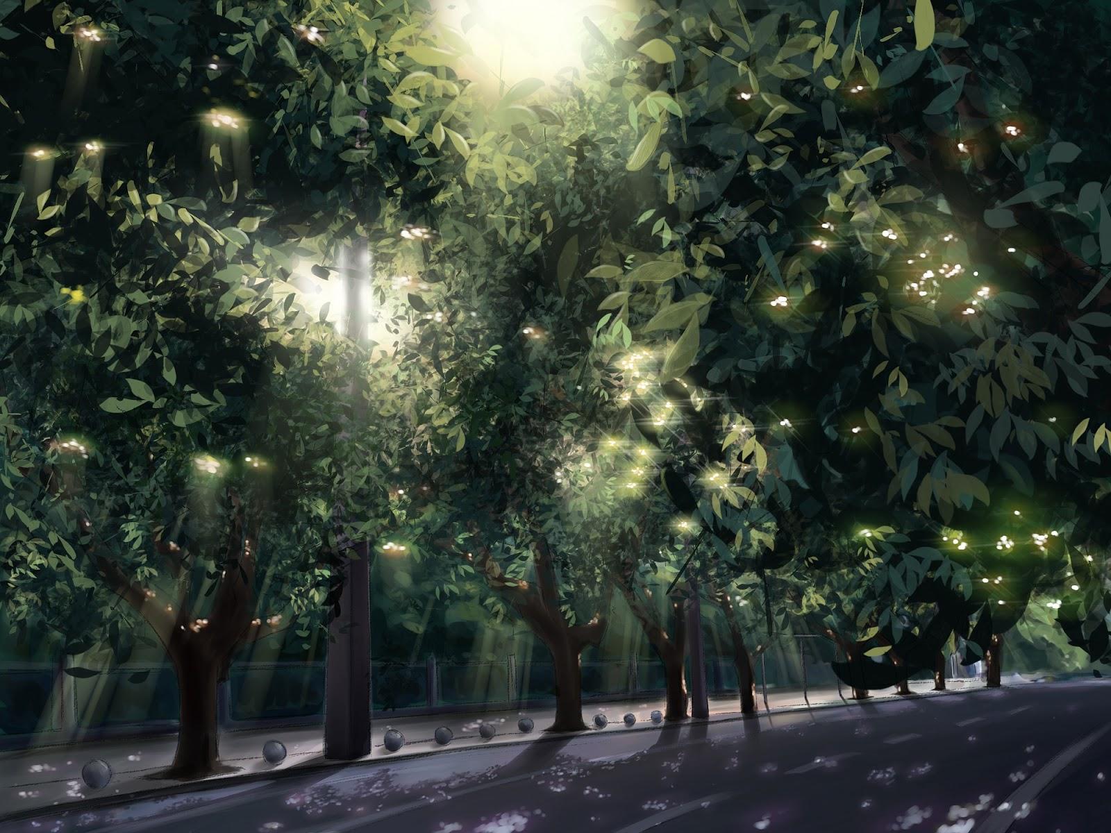 Anime Landscape City Anime Background
