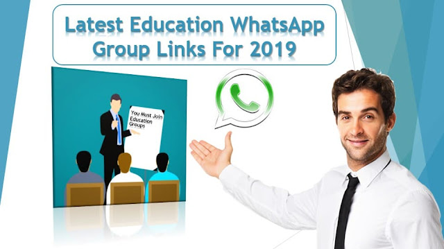 Latest Education Whatsapp Group Links For 2019_full active education whatsapp groups links for 2019