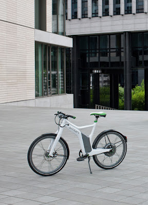 All New 2011/2012/2013 Mercedes-Benz Smart e Bike all electric drive zero emission Bicycle