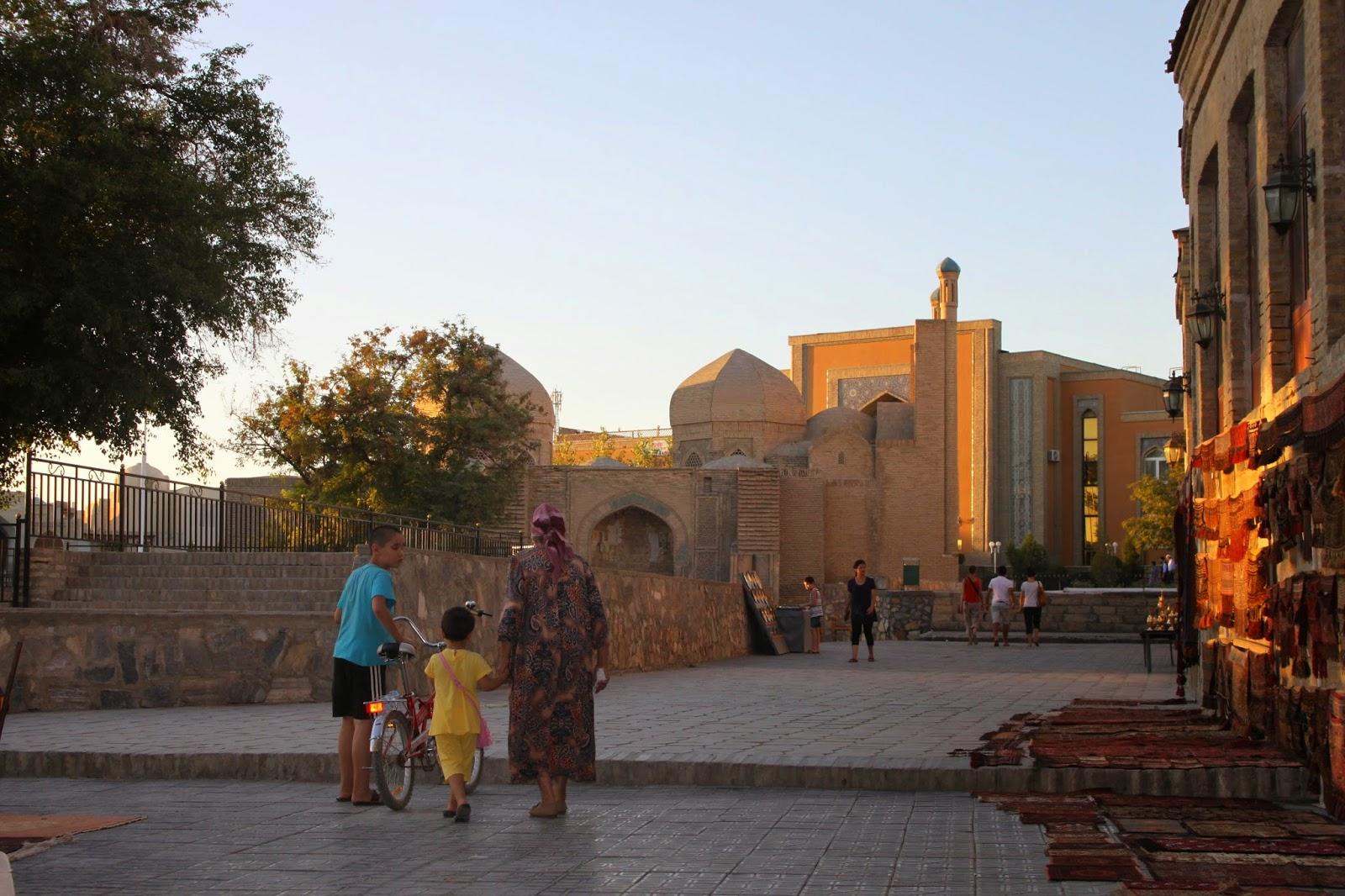 Voyage sac-au-dos/backpaking en Ouzbékistan