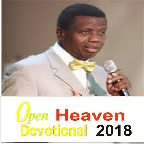 Open Heaven 2 January 2018 (Tuesday)