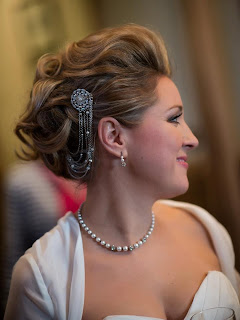 Soft stylish wedding hair on MUA Eileen Solan