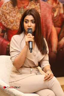 Shriya Saran Nandamuri Balakrishna at Gautamiputra Satakarni Team Press Meet Stills  0038