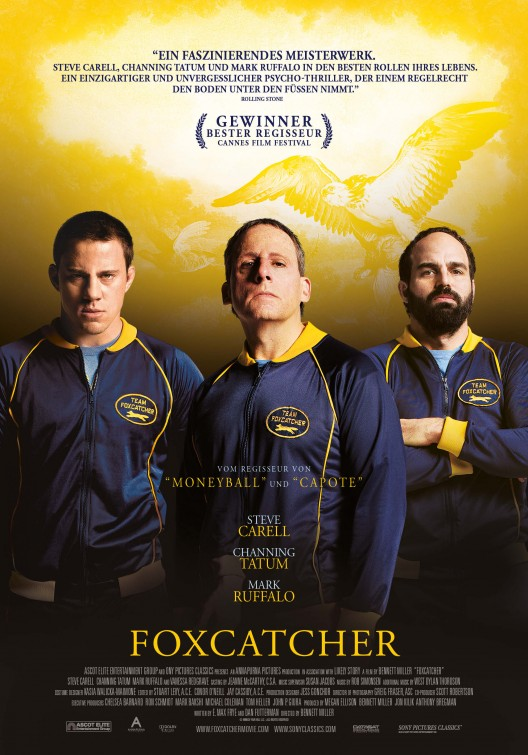 Foxcatcher team jacket