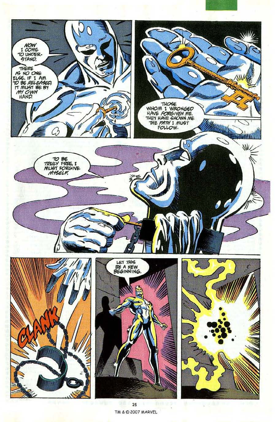 Read online Silver Surfer (1987) comic -  Issue #58 - 27