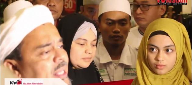 Giliran Putri Habib Rizieq Shihab Dilarang Masuk ke Yaman